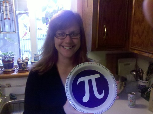 Pi Pie Plate ... told you I was a dork