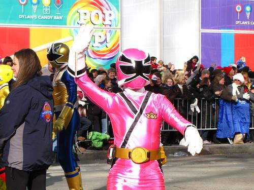 Power Ranger Pink at 85th Macy's Thanksgiving Parade