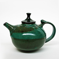 Burrum Pottery. Teapot.