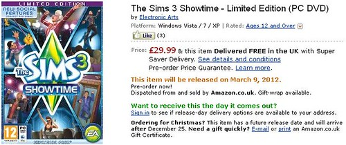 Showtime LE - Pre-order Now via Amazon!