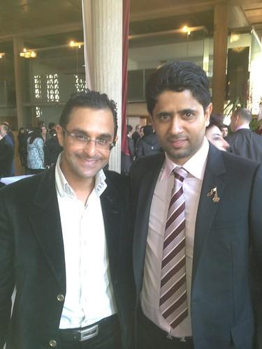 Rencontre avec le Président du PSG Nasser Al-Khelaïfi : un homme chaleureux by Arash Derambarsh