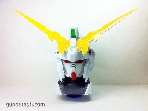 Banpresto Gundam Unicorn Head Display  Unboxing  Review (21)