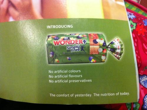 Wonder bread ad