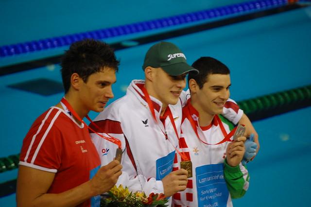 Rijeka 2008 Men's 400 IM Medal Winners
