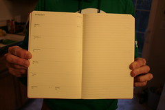 Moleskine Planner - open weekly