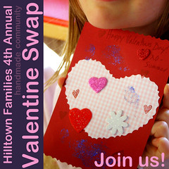 Handmade Valentine Card Swap