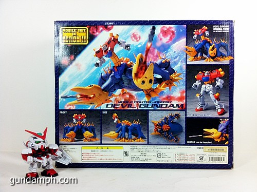 MSIA Devil Gundam First Form Unboxing Review Huge (8)