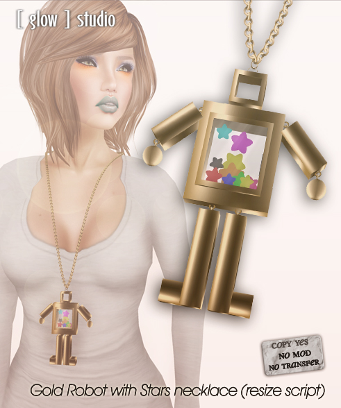 [ glow ] studio - robot gold stars