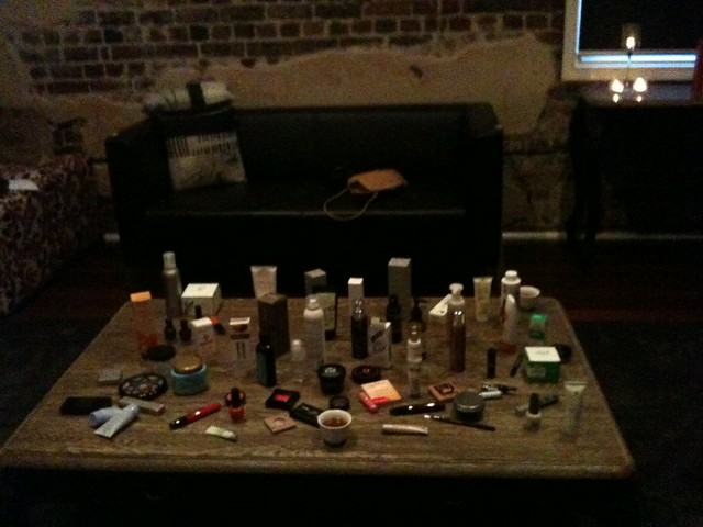 Product Swap table!