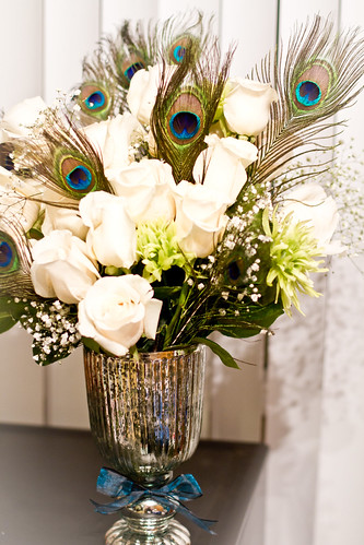 Flowers for our Bridal Show Photography Booth