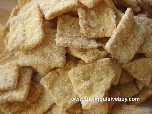 Frosted Toast Crunch Cereal Closeup