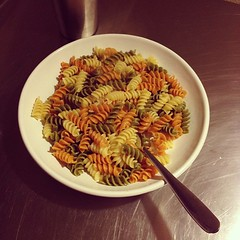 Tri-Color Rotini - after ride meal.