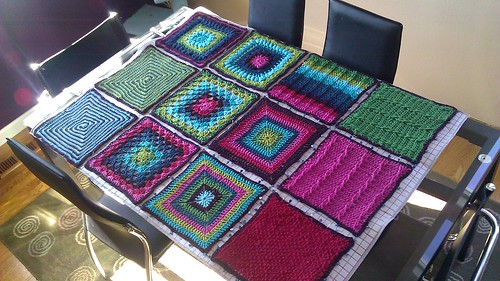 The other half of the afghan...