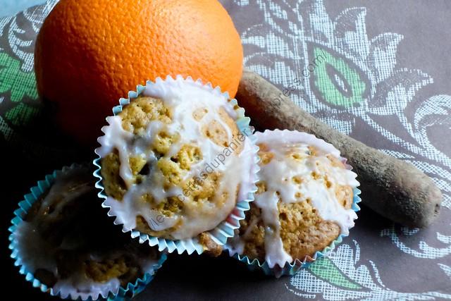 Délices aux carottes et à l'orange / Carrot and Orange Yummies