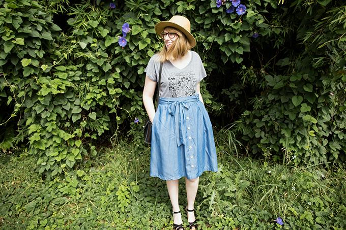 modcloth chambray skirt5