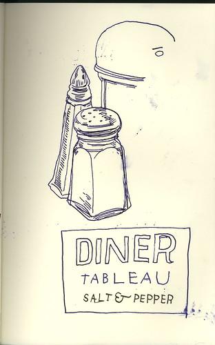 diner tableau by jmignault