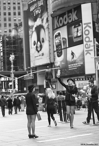 Faces Of New York #13 - Times Square Calling by LilFr38