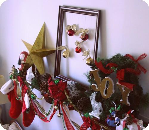 Christmas Mantle I