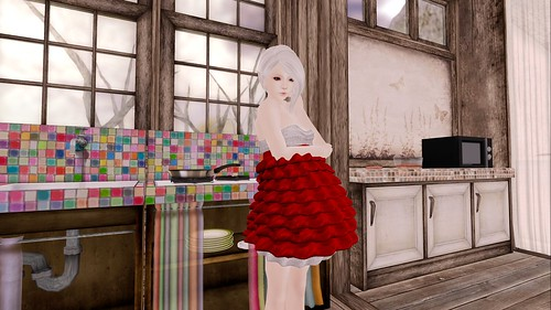 Tinsel Tree Dress - Coming Soon by Sei Minuet / {Lemon Tea}