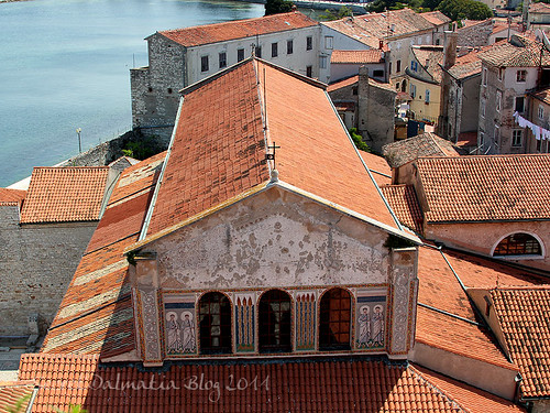 Euphrasian basilica from the bell tower