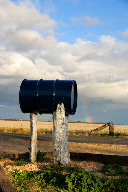 Road Mail Box
