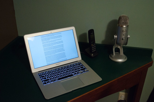 The Mac Air as a Tool For Writing – Whatever
