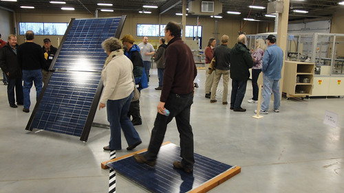 Some tough panels - Solar on the Iron Range