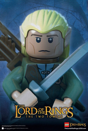 LEGO LOTR Legolas The Two Towers