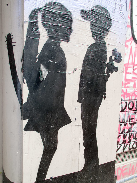 Girls vs. Boys - Stencil