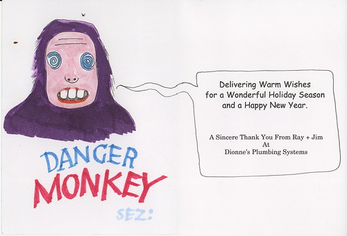 danger monkey sez by jmignault