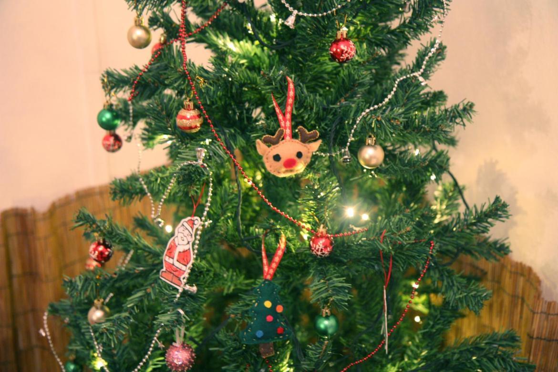 sewing felt xmas tree decoration
