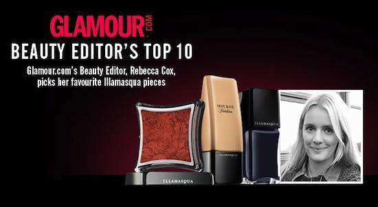 Illamasqua Glamour.com Beauty Editor's Top 10 Products