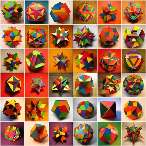 Polyhedron models digest
