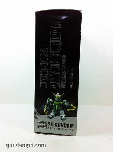 SD Gundam Online Capsule Fighter ALTRON Toy Figure Unboxing Review (3)