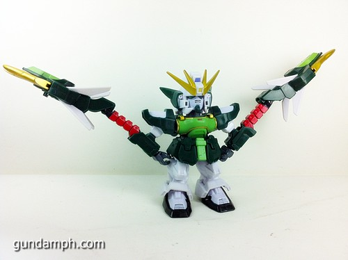 SD Gundam Online Capsule Fighter ALTRON Toy Figure Unboxing Review (15)