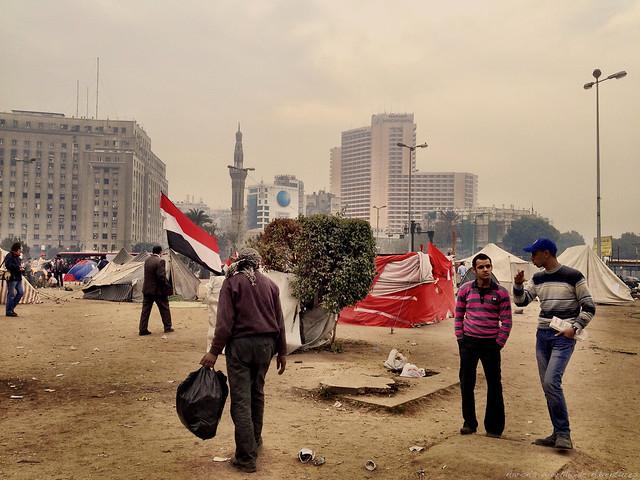 Tahrir Square Encampment