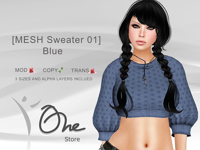 https://marketplace.secondlife.com/p/One-Store-MESH-Sweater-01-Blue/3146656