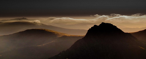 In the shadows -Tryfan