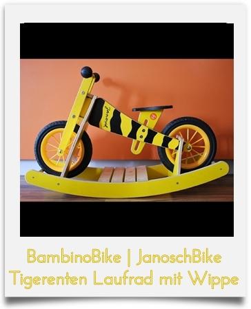 BambinoBike JanoschBike Laufrad mit Wippe