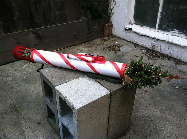 Mark 12 Tenenbaum Launcher with HC Ballistic Christmas Tree