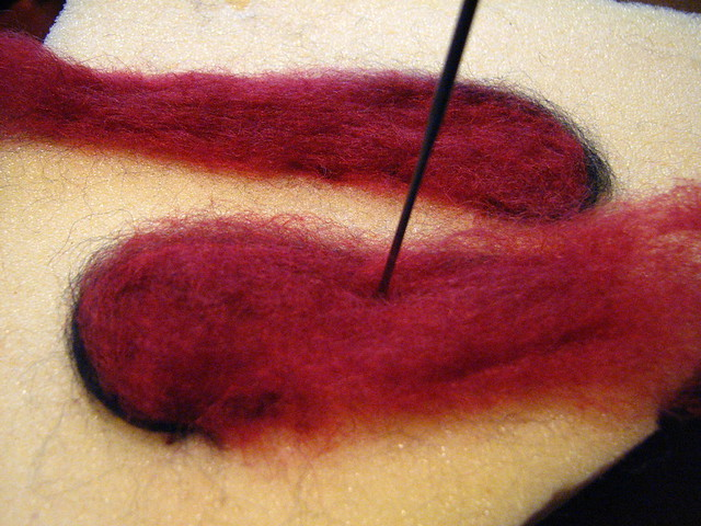 Felting wings