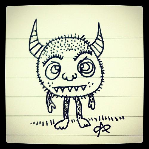 Monster rawr.