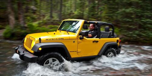 Jeep Rubicon: Version Potente de la Jeep Wrangler
