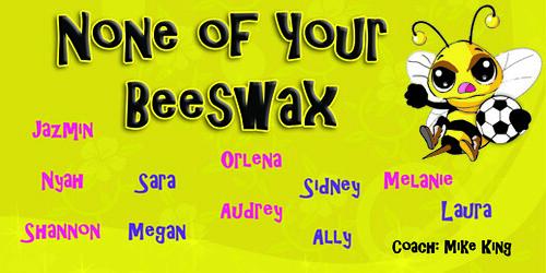 beeswax soccer team Banner