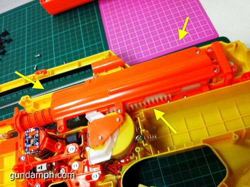 NERF Stampede Basic Modification Attempt (5)