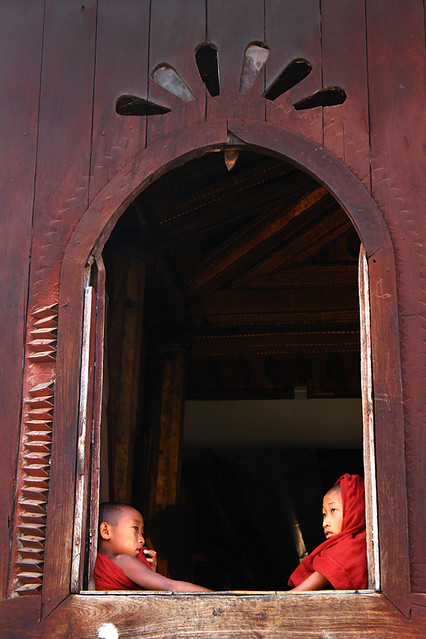 Shwe Yaunghwe Kyaung, Nyanungshwe, Inle Lake