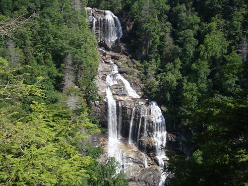 Upper Whitewater Falls by waterfallshiker