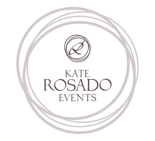 Kate Rosado Events proposal diseño de logo
