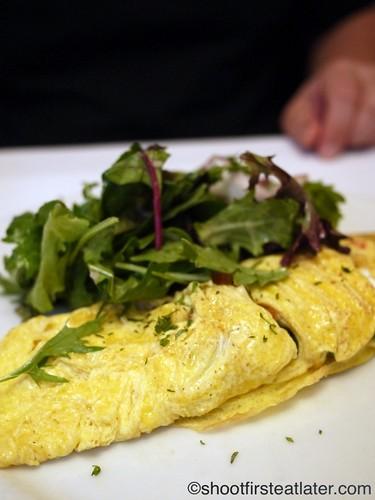 asparagus & goat's cheese omelette 10