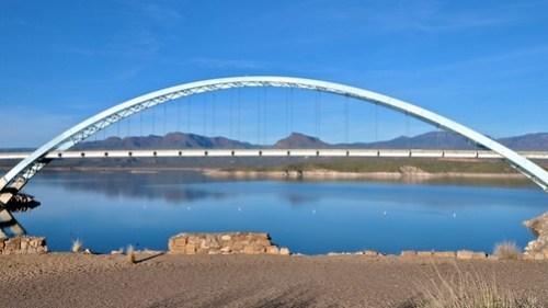 Roosevelt Lake and Bridge